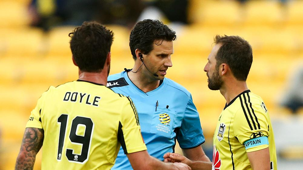 Kris Griffiths-Jones Wellington Phoenix v Melbourne Victory A-League 17012017