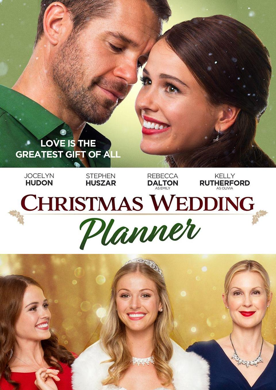 """<p>There's nothing like being a wedding planner during the holidays to remind a girl how single she is. But Kelsey doesn't have the time to dwell on it when Connor, a private investigator, shows up right before the big Christmas wedding that is supposed to be Kelsey's big break into the industry and threatens to ruin the whole thing. </p><p><a class=""""link rapid-noclick-resp"""" href=""""https://www.netflix.com/title/80224054"""" rel=""""nofollow noopener"""" target=""""_blank"""" data-ylk=""""slk:Watch Now"""">Watch Now</a></p>"""