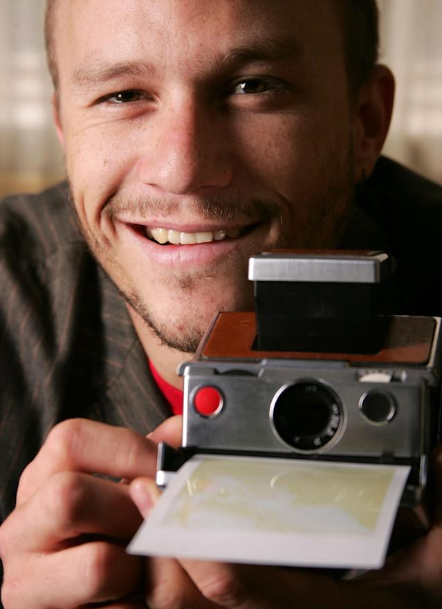 Heath Ledger will be the subject of an upcoming exhibit by photographer Ben Watts. (Photo: Carlo Allegri/Getty Images)