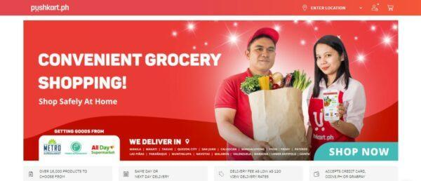 Online Grocery Delivery in the Philippines - Pushkart.ph
