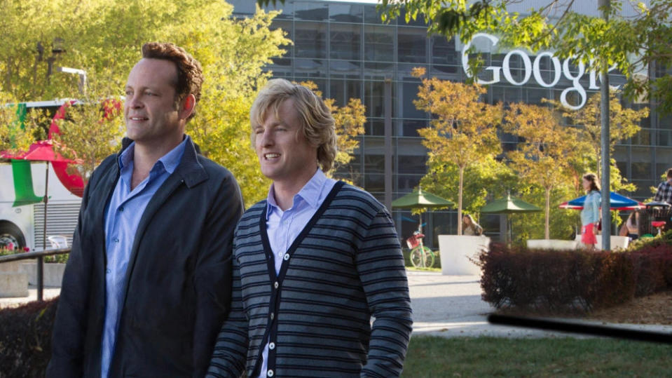 'The Internship' is a film about working at Google. (Credit: Fox)