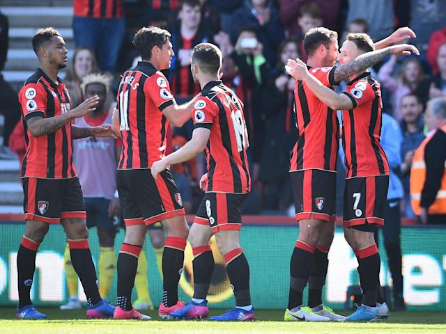 Bournemouth are as good as safe after the win: Getty
