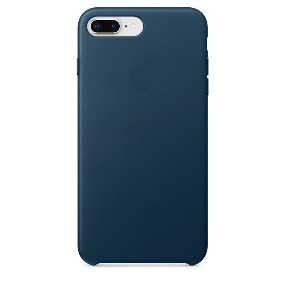 "<p>If you want to keep it basic, there's nothing better than the <a href=""https://www.popsugar.com/buy/Apple-Leather-Case-317050?p_name=Apple%20Leather%20Case&retailer=apple.com&evar1=news%3Aus&evar9=44473996&evar98=https%3A%2F%2Fwww.popsugar.com%2Fnews%2Fphoto-gallery%2F44473996%2Fimage%2F44474008%2FApple-Leather-Case&prop13=desktop&pdata=1"" rel=""nofollow noopener"" target=""_blank"" data-ylk=""slk:Apple Leather Case"" class=""link rapid-noclick-resp"">Apple Leather Case</a> ($49) to protect your phone.</p>"