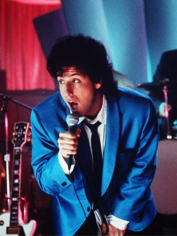 Adam Sandler in 'The Wedding Singer' (Rex)