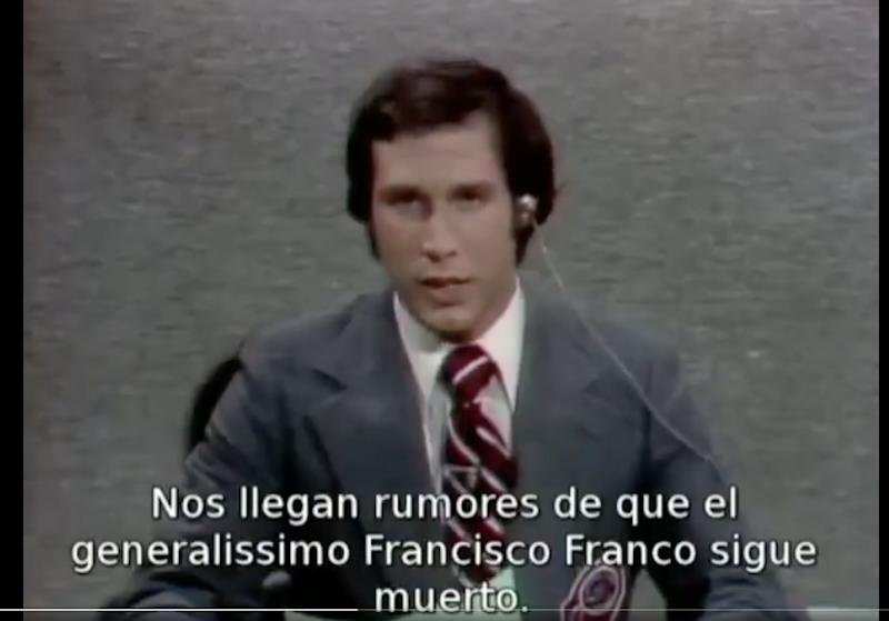 Chevy Chase, en el 'SNL'. (Photo: TWITTER)