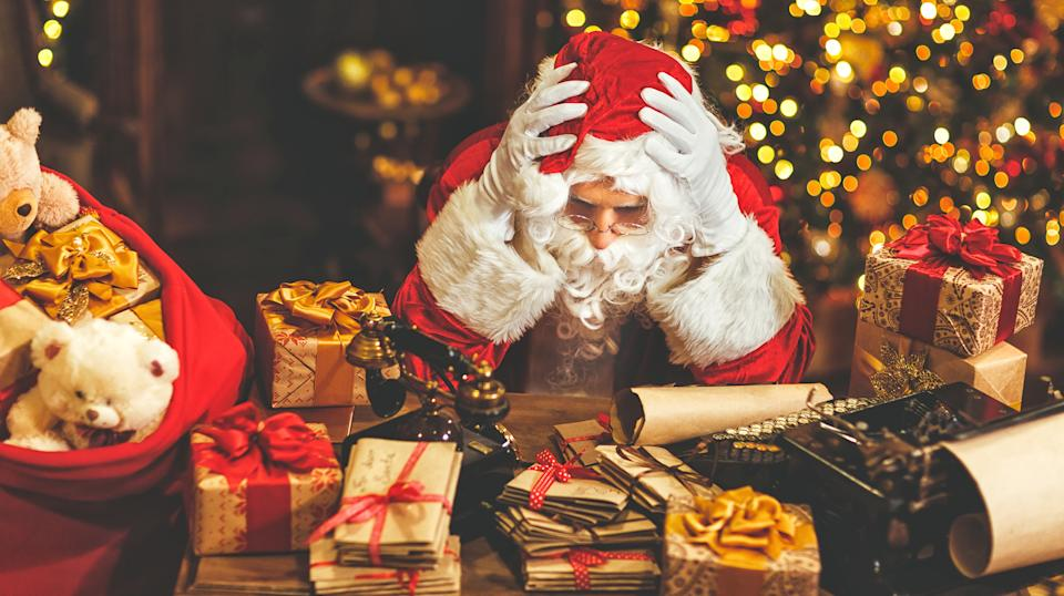 It's not just Santa Claus who's under a lot of stress at this time of the year. Photo: Getty
