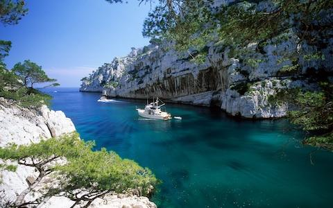 The calanques, Marseilles, Provence - Credit: Getty