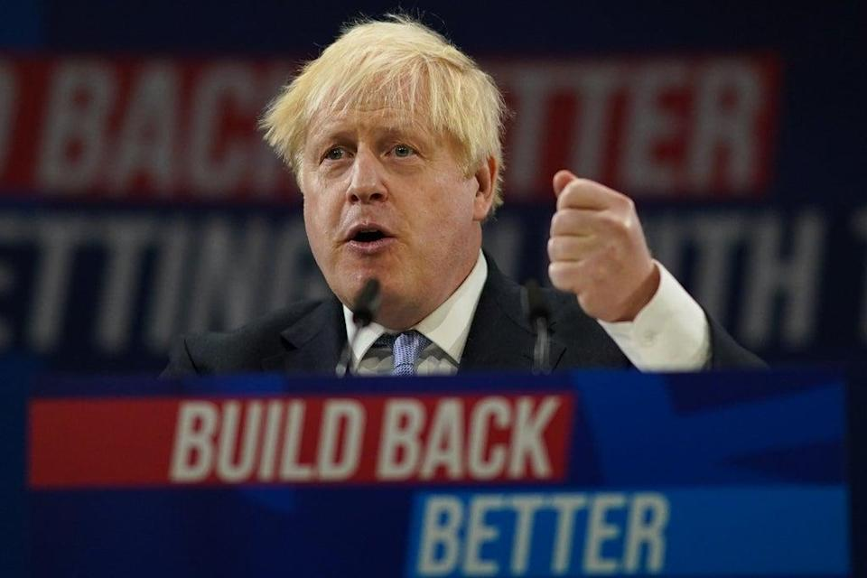 Boris Johnson defied calls from anti-poverty campaigners to keep universal credit uplift (Getty Images)