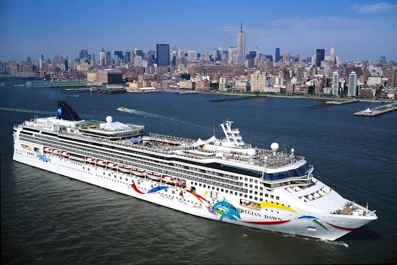 Another of Norwegian Cruise Line's ships, The Norwegian Dawn: Getty