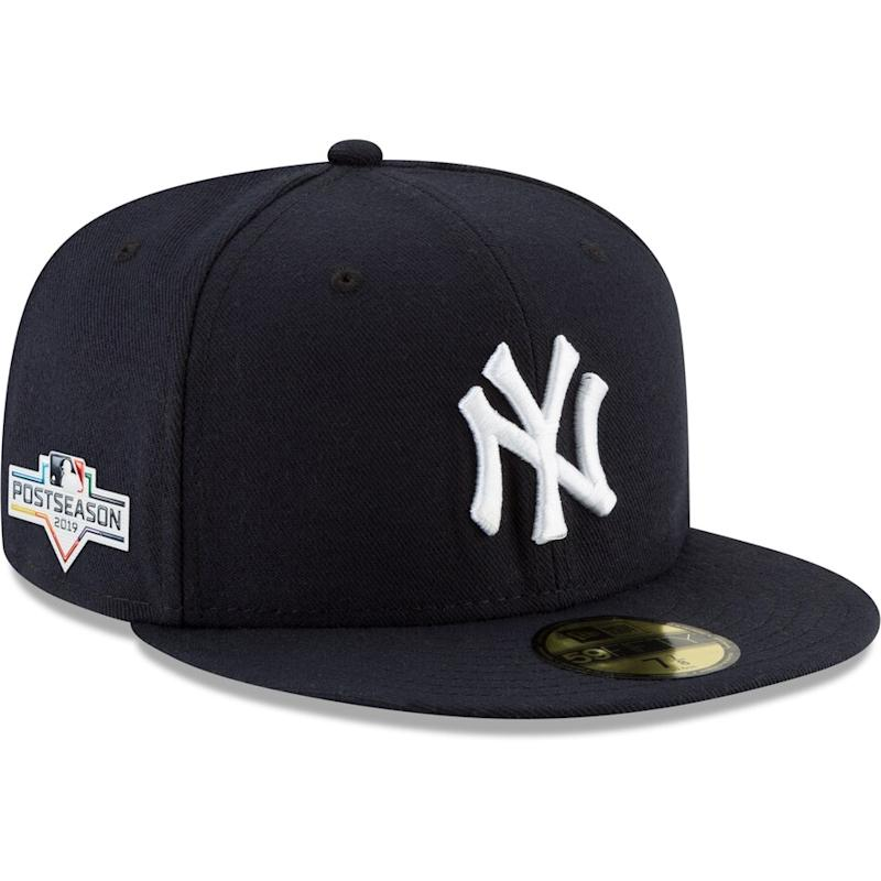 Yankees 2019 Postseason Side Patch Fitted Hat
