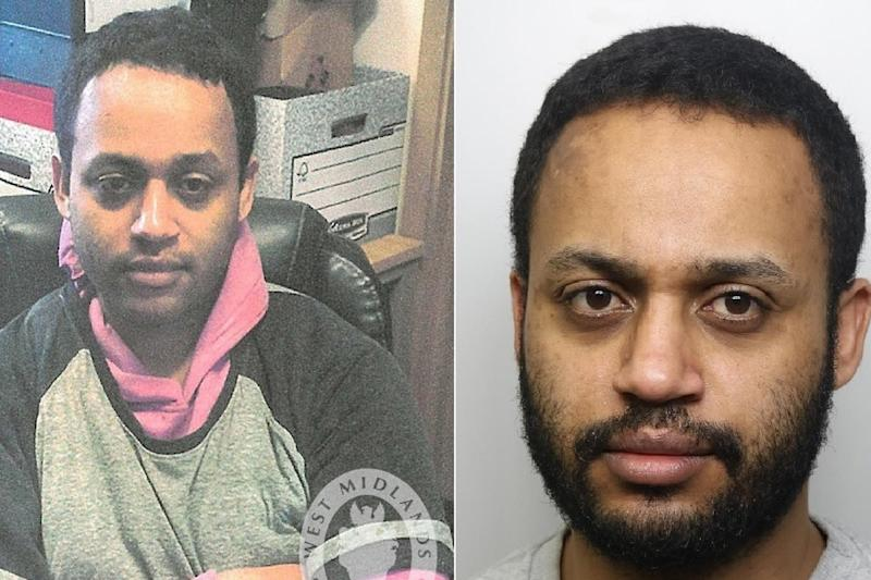 Temesgen Desta, 32, has been convicted of rape, intent to commit rape and two counts of false imprisonment after attacks on two women in Birmingham and Merseyside on 14 and 15 March 2019: West Midlands Police