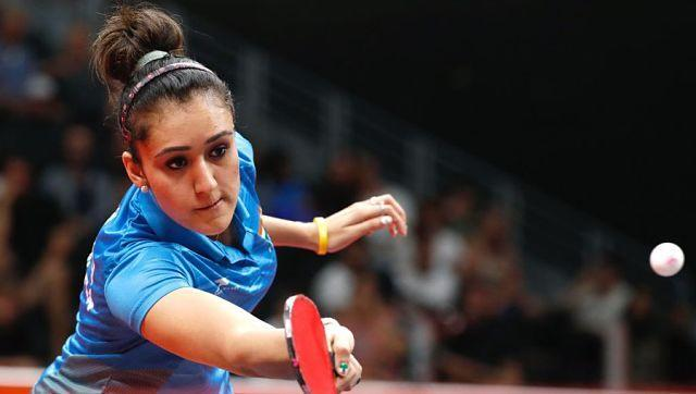 Manika Batra was knocked out of the women's singles table tenis event following a loss to Sofia Polcanova of Austria. She lost by four games to none. Twitter @jswsports