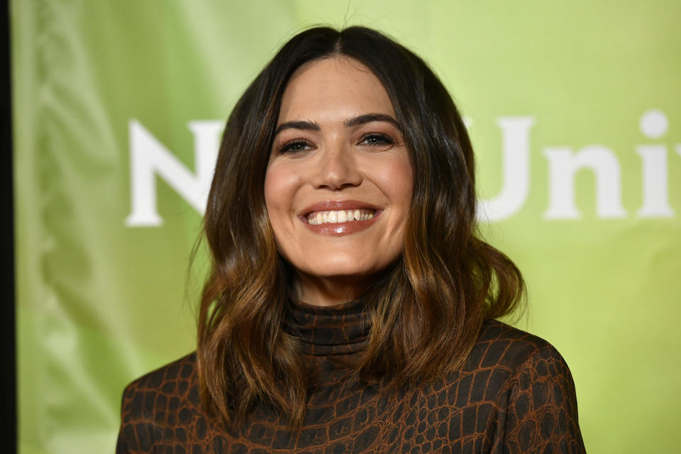 Mandy Moore is spilling all the details of her birth story. (Photo: Frazer Harrison/Getty Images)