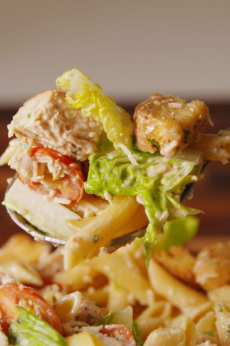 "<p>This is the perfect side for your next BBQ.</p><p>Get the <a href=""https://www.delish.com/uk/cooking/recipes/a29260396/chicken-caesar-pasta-salad-recipe/"" rel=""nofollow noopener"" target=""_blank"" data-ylk=""slk:Chicken Caesar Pasta Salad"" class=""link rapid-noclick-resp"">Chicken Caesar Pasta Salad</a> recipe.</p>"