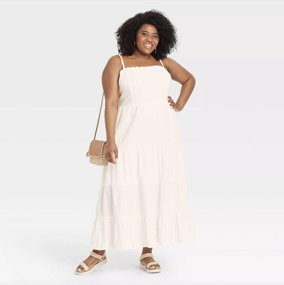 <p>Consider this <span>Knox Rose Sleeveless Tiered Dress</span> ($35) your secret weapon during the dog days of summer. This pick is made with a lightweight, breathable fabric, plus the spaghetti straps are heatwave-friendly. </p>