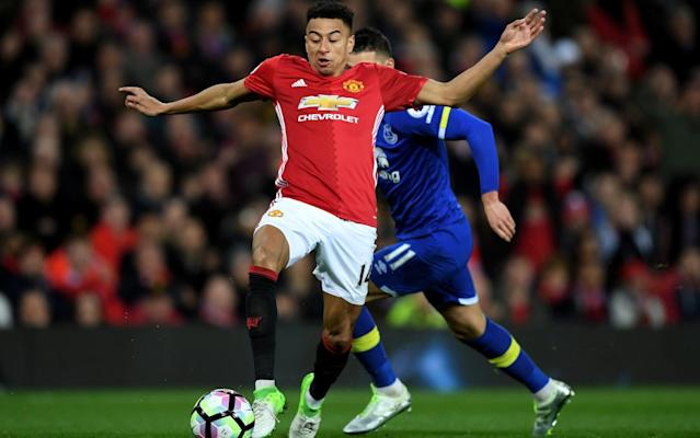 Movin' on up: Jesse Lingard has put pen to paper on a lucrative four-year contract - Getty Images Europe