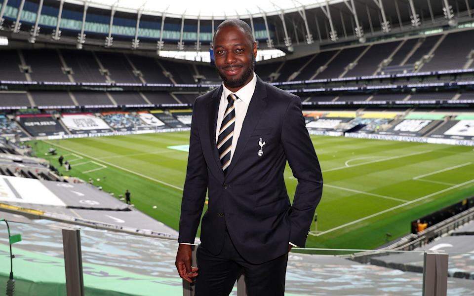 Ledley King at the Tottenham Hotspur Stadium -Former Tottenham captain Ledley King in discussions to join club's staff - GETTY IMAGES