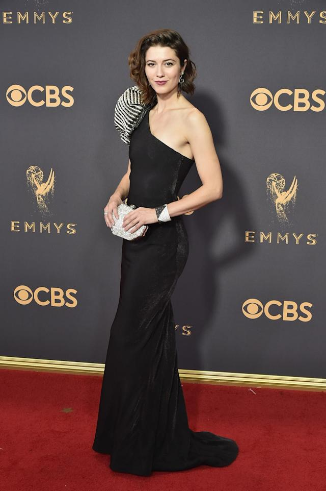 <p>Mary Elizabeth Winstead attends the 69th Annual Primetime Emmy Awards on September 17, 2017.<br> (Photo: Getty Images) </p>