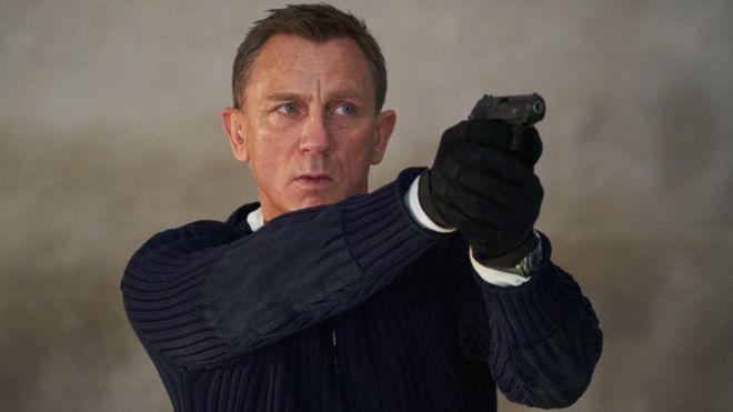 Daniel Craig as 007. <i>No Time to Die</i> will mark his last outing as James Bond.