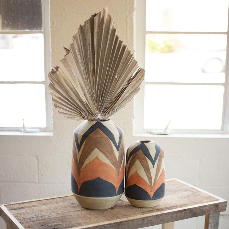 <p>This <span>Earth Ceramic Vase Set</span> ($175) will look great on your bedside table.</p>