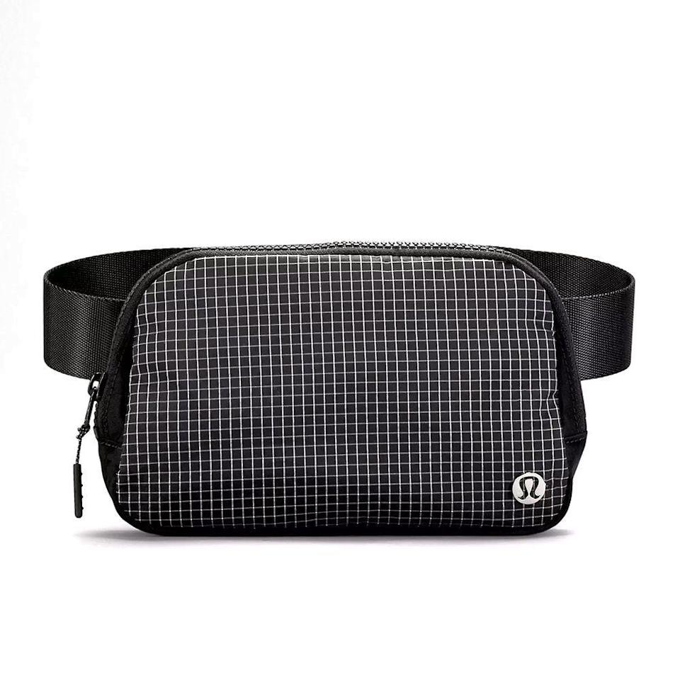 """<p><strong>Lululemon</strong></p><p>lululemon.com</p><p><strong>$38.00</strong></p><p><a href=""""https://go.redirectingat.com?id=74968X1596630&url=https%3A%2F%2Fshop.lululemon.com%2Fp%2Fbags%2FEverywhere-Belt-Bag%2F_%2Fprod8900747&sref=https%3A%2F%2Fwww.bestproducts.com%2Flifestyle%2Fg37625671%2Fstepmom-gift-ideas%2F"""" rel=""""nofollow noopener"""" target=""""_blank"""" data-ylk=""""slk:Shop Now"""" class=""""link rapid-noclick-resp"""">Shop Now</a></p><p>Heavy purse, no more. With this belt bag, your stepmom will be carrying her things hands-free, and she's less likely to stuff as much stuff as she does into her handbag into this thing. There are three inside pockets and one external zip pocket that's the perfect place for her phone.</p>"""