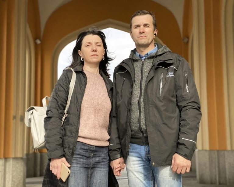 Natalia and Dmitry Protasevich are begging governments in Europe to help free their son Roman who has been arrested in Belarus