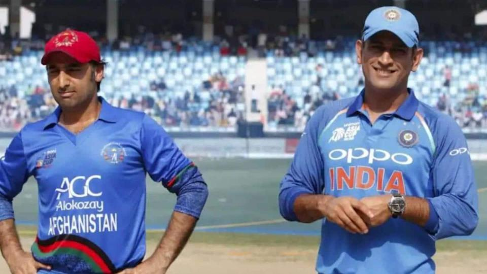 Afghan equals Dhoni