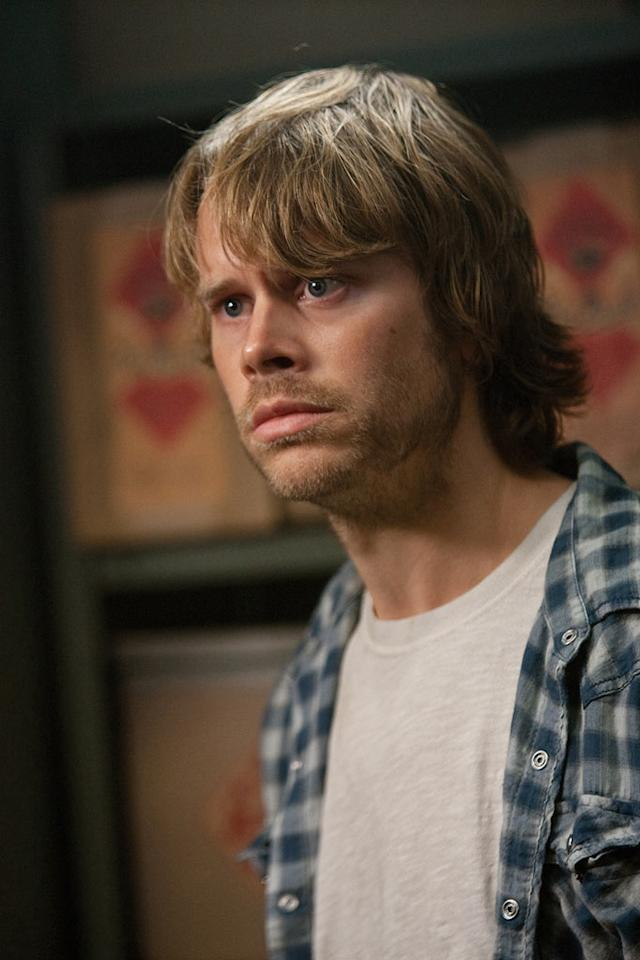 """<a href=""""http://movies.yahoo.com/movie/contributor/1800361349"""">Eric Christian Olsen</a> in Universal Pictures' <a href=""""http://movies.yahoo.com/movie/1810160179/info"""">The Thing</a> - 2011"""