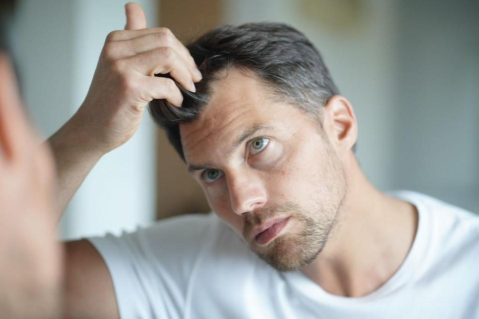 """Dirty hair can be good for the atmosphere: according to environmental engineers at the Missouri University of Science and Technology, <a href=""""https://www.sciencedirect.com/science/article/abs/pii/S1352231008001532"""" rel=""""nofollow noopener"""" target=""""_blank"""" data-ylk=""""slk:hair absorbs the air pollutant ozone"""" class=""""link rapid-noclick-resp"""">hair absorbs the air pollutant ozone</a>. Scalp oils were found to be a major contributor to this, so if you want to do your part to help your local air quality, skip the shampoo!"""