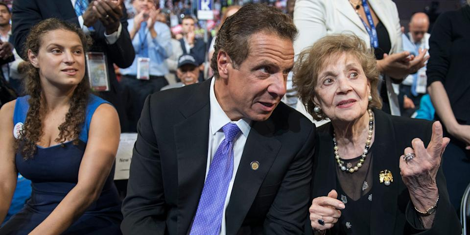 cuomo mother thanksgiving