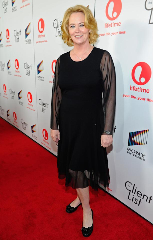 """Cybill Shepherd attends the launch party for Lifetime's """"<a href=""""http://tv.yahoo.com/client-list/show/47678"""">The Client List</a>"""" at Sunset Tower on April 4, 2012 in West Hollywood, California."""