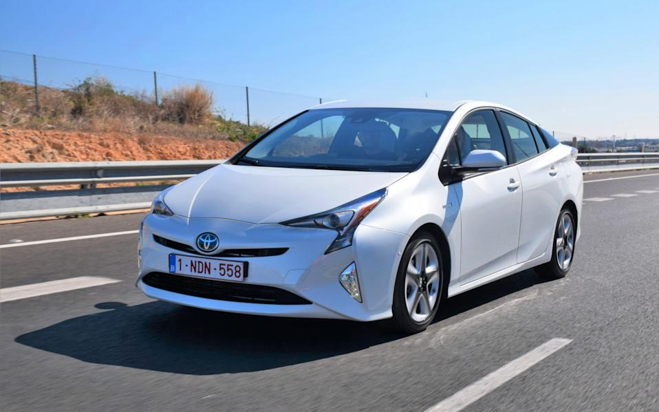 The Prius will be caught up by the UK Government's ban on the sale of new electric, diesel and hybrid cars from 2030 if Toyota keeps producing it - Tramino