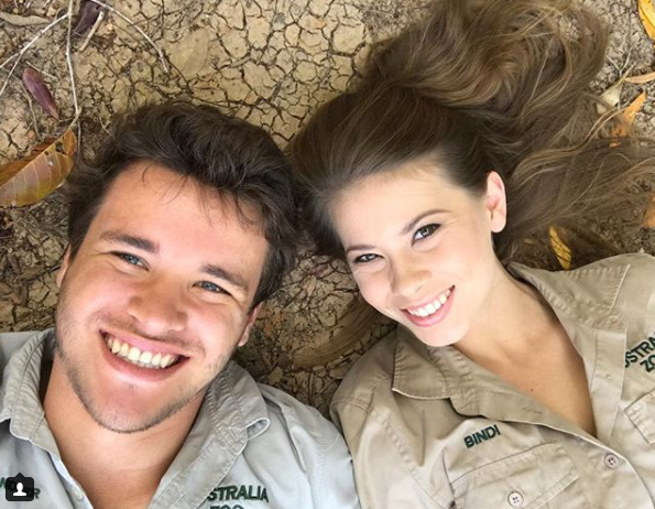 Bindi and Chandler, pictured recently, have been dating for three years. Source: Instagram