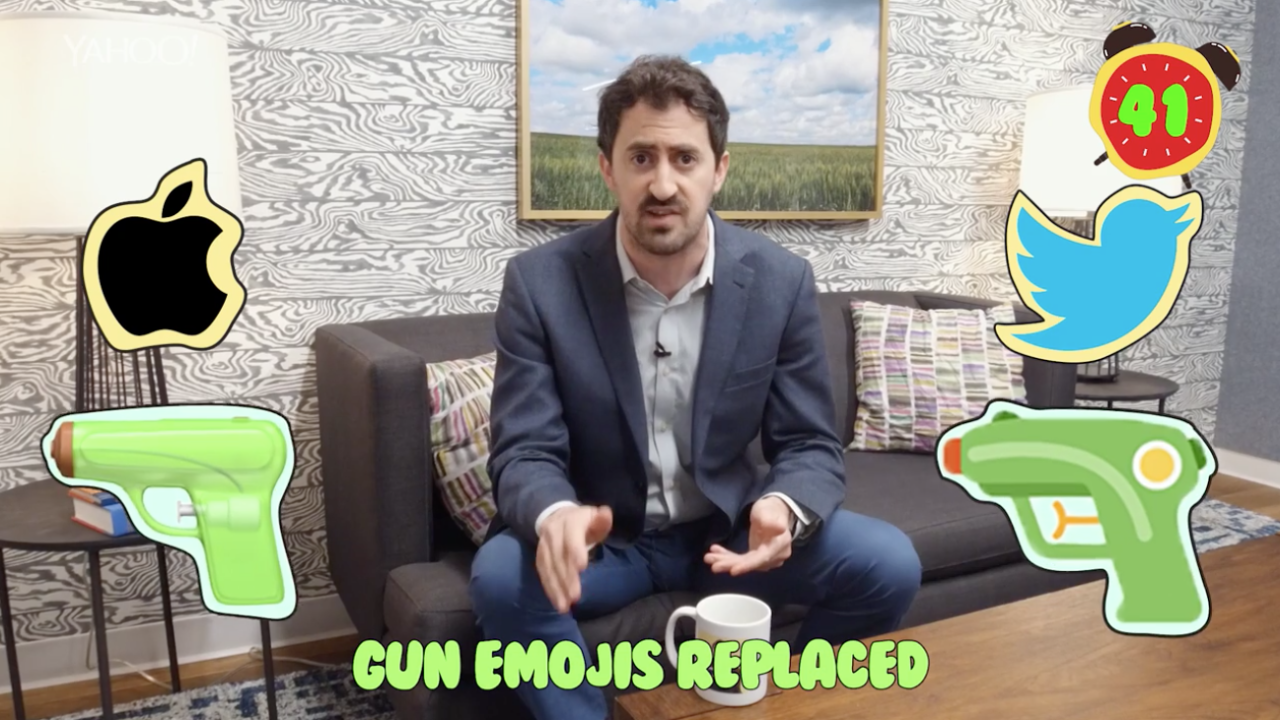 Business + Coffee: Facebook and Google replace gun emojis, Bill Cosby  guilty, Sonos IPO [Video]