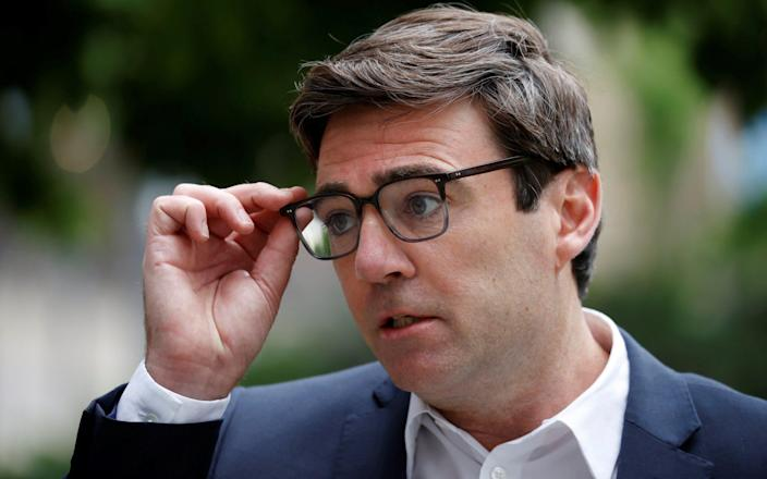 Andy Burnham also accused Nicola Sturgeon of deflecting from the harm the ban is causing his constituents - REUTERS/Phil Noble