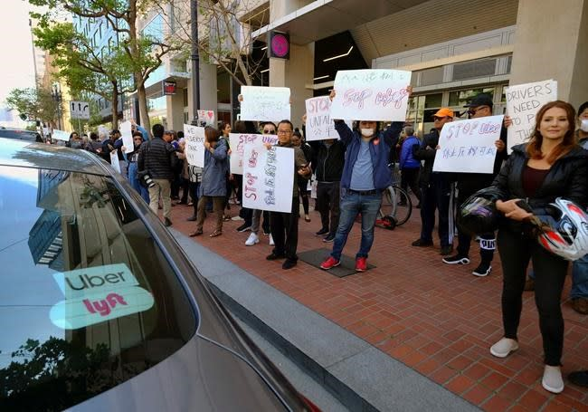 Uber, Lyft suggest changes but want drivers as contractors