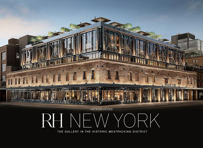 Rendering of the RH Meatpacking District store in New York