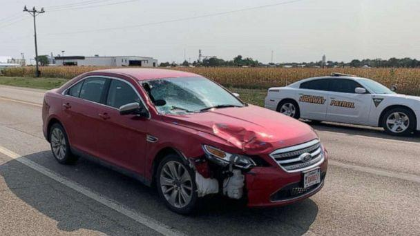 PHOTO: Authorities released a photo of South Dakota Attorney General Jason Ravnsborg's 2011 Ford Taurus days after he fatally struck a pedestrian on Highway 14, west of Highmore, S.D. The photograph does not depict the vehicle at the time of the crash. (South Dakota Department of Public Safety)