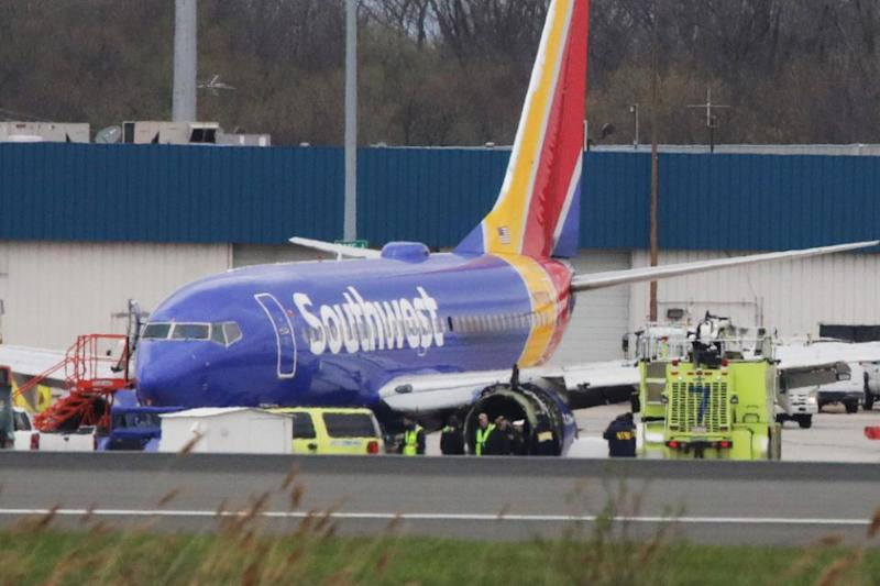 SouthWest Airlines Flight 1380 experienced 'engine failure'. Photo: Getty