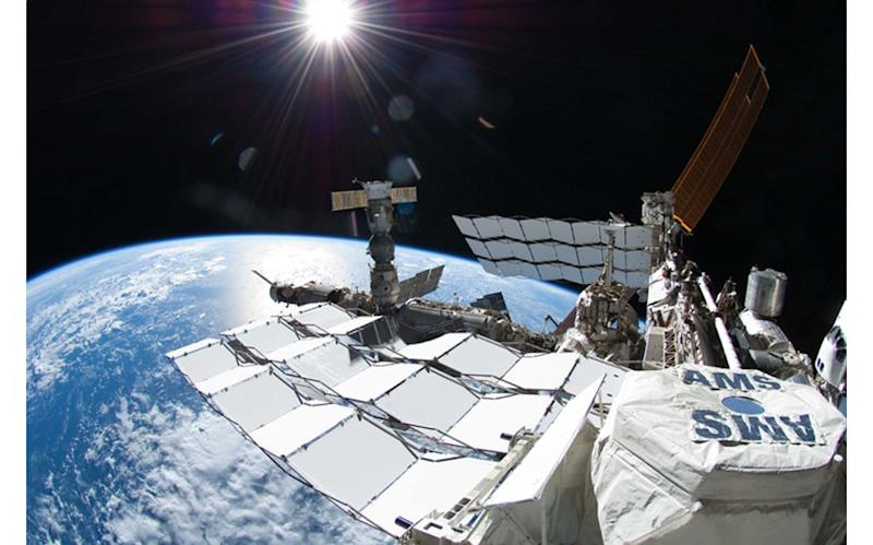 The Alpha Magnetic Spectrometer has been hunting for antimatter and dark matter for 8 ½ years.