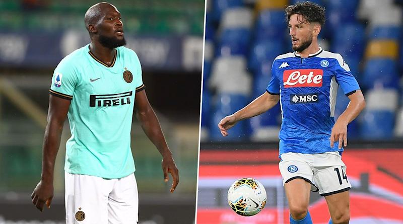 Inter Milan vs Napoli, Serie A 2019-20: Romelu Lukaku, Dries Mertens and Other Players to Watch Out in INT vs NAP Football Match