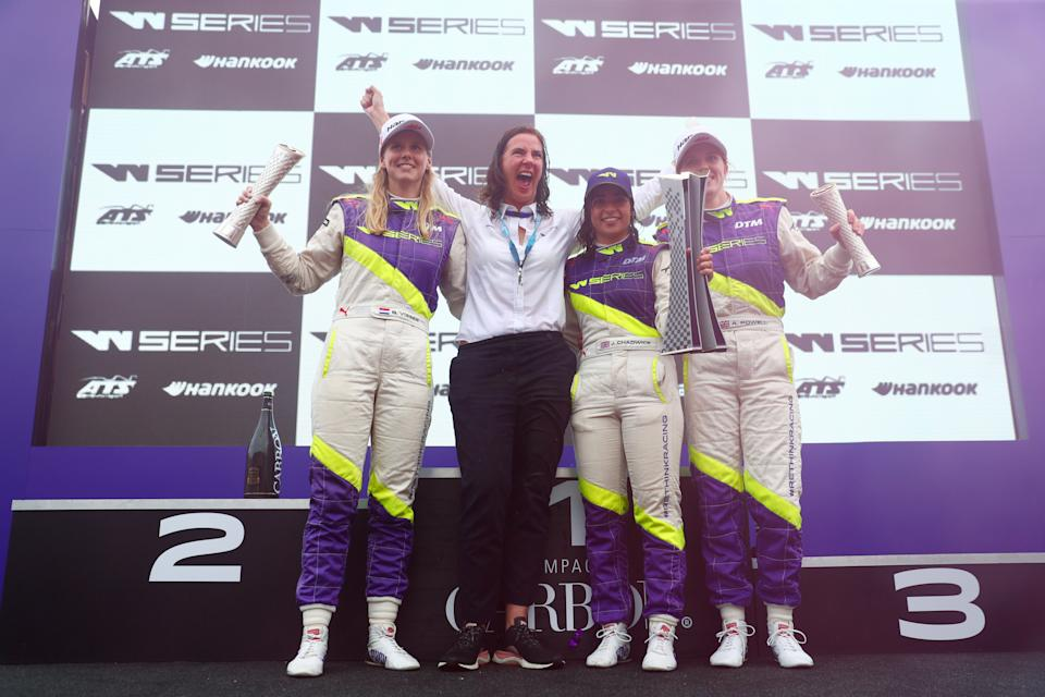 The addition will put women's motorsport on its biggest stage yetGetty
