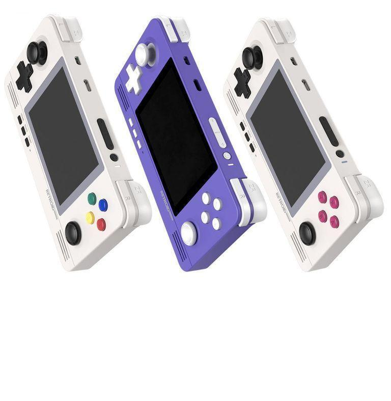 """<p><strong>Retroid</strong></p><p>goretroid.com</p><p><strong>$80.00</strong></p><p><a href=""""https://www.goretroid.com/collections/frontpage/products/retroid-pocket-2-handheld-retro-gaming-system?variant=36670989664416"""" rel=""""nofollow noopener"""" target=""""_blank"""" data-ylk=""""slk:Buy"""" class=""""link rapid-noclick-resp"""">Buy</a></p><p>This retro-styled, new-but-old portable can play <em>so. many. games. </em>It'll help any gamer reclaim the glory of the <a href=""""https://www.esquire.com/lifestyle/g31016769/portable-handhelds-gaming-consoles/"""" rel=""""nofollow noopener"""" target=""""_blank"""" data-ylk=""""slk:handheld"""" class=""""link rapid-noclick-resp"""">handheld</a> golden age of years past.</p>"""