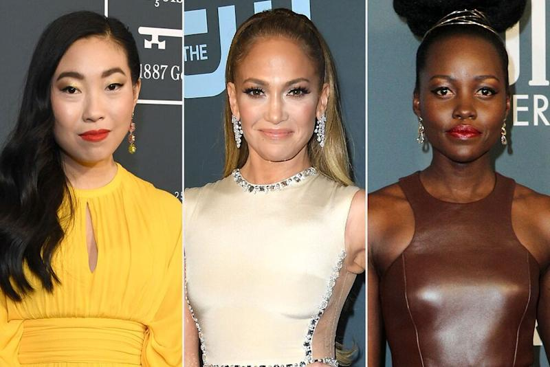 Awkwafina, J. Lo, and Lupita Nyong'o