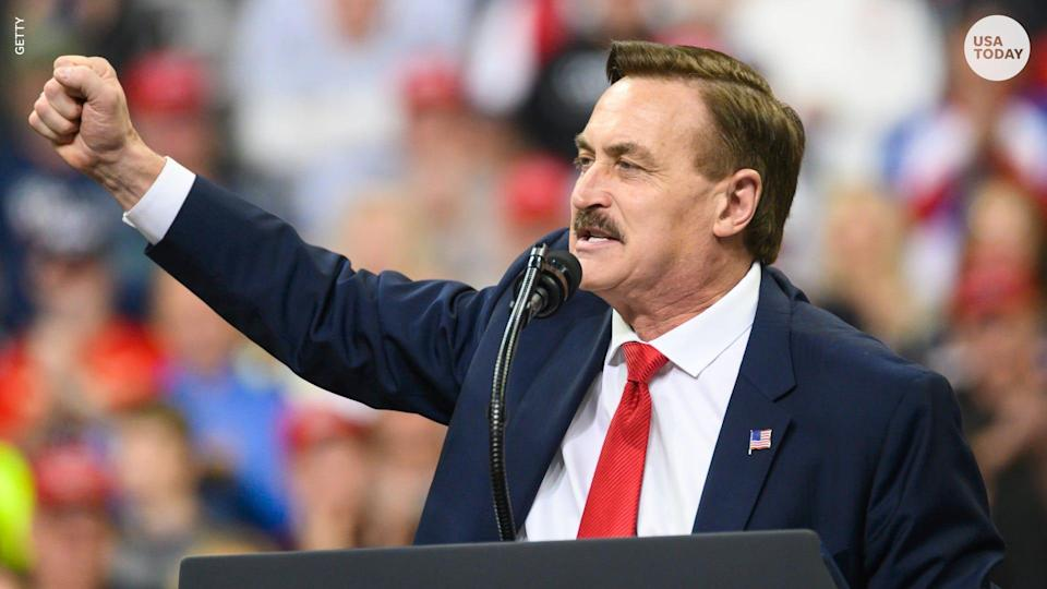 "Twitter has permanently banned MyPillow founder Mike Lindell over ""repeated violations"" of its civic integrity policy."