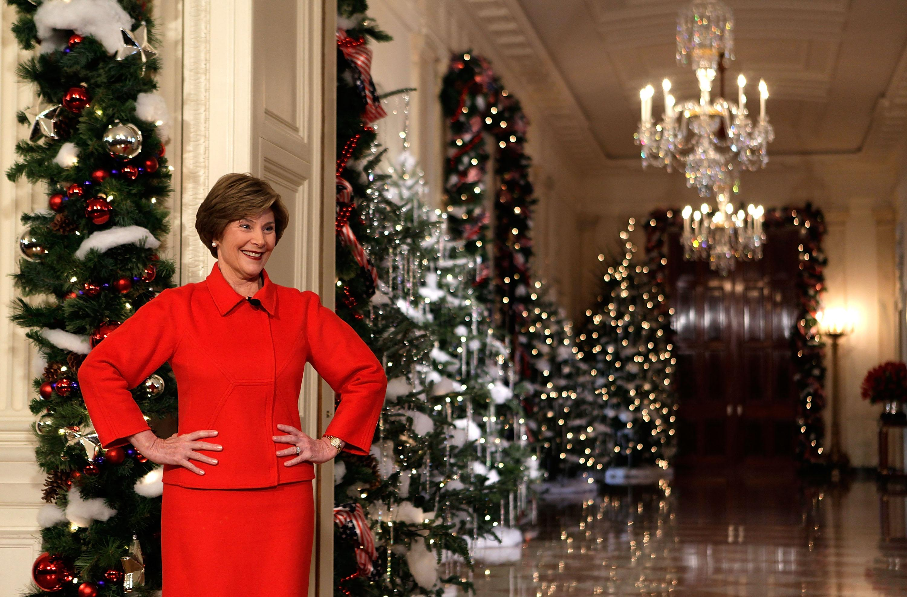 as did laura bush photo getty