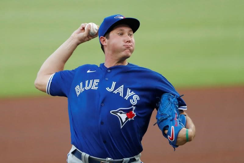 Toronto Blue Jays right-hander Nate Pearson sidelined with elbow injury