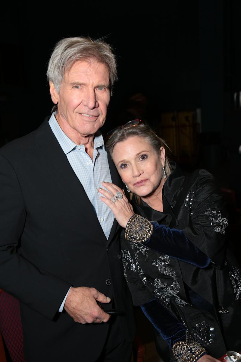 <strong>Harrison and Carrie in 2015 </strong>
