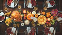 """<p>One of the best moments on Thanksgiving Day, after the perfectly cooked <a href=""""https://www.countryliving.com/food-drinks/a28679138/20-lb-turkey-cook-time/"""" rel=""""nofollow noopener"""" target=""""_blank"""" data-ylk=""""slk:turkey"""" class=""""link rapid-noclick-resp"""">turkey</a> has been fetched from the oven and the <a href=""""https://www.countryliving.com/entertaining/g634/thanksgiving-table-settings-1108/"""" rel=""""nofollow noopener"""" target=""""_blank"""" data-ylk=""""slk:Thanksgiving table setting"""" class=""""link rapid-noclick-resp"""">Thanksgiving table setting</a> has been arranged and your crazy Uncle Gary has told his hundredth story, is finally sitting down at the dinner table with the whole family. Many families have a tradition of going around and sharing something they are thankful for. When it comes around to your turn this year, why not share a Thanksgiving poem or one of the many <a href=""""https://www.countryliving.com/food-drinks/g22825950/funny-thanksgiving-quotes/"""" rel=""""nofollow noopener"""" target=""""_blank"""" data-ylk=""""slk:thanksgiving"""" class=""""link rapid-noclick-resp"""">thanksgiving</a> or <a href=""""https://www.countryliving.com/life/g28564406/gratitude-quotes/"""" rel=""""nofollow noopener"""" target=""""_blank"""" data-ylk=""""slk:gratitude quotes"""" class=""""link rapid-noclick-resp"""">gratitude quotes</a> out there? You could even get the whole family involved and have everyone pick their favorite poem and have a Thanksgiving poetry reading—<em>after</em> the meal, of course. We wouldn't want the food getting cold! When everyone sits down with their favorite slice of <a href=""""https://www.countryliving.com/food-drinks/g1368/thanksgiving-pies/"""" rel=""""nofollow noopener"""" target=""""_blank"""" data-ylk=""""slk:Thanksgiving pie"""" class=""""link rapid-noclick-resp"""">Thanksgiving pie</a> or dessert, your poetry reading will include poems from some of the greats in history, from all walks of life and backgrounds. Some were inspired by the changing season, the harvest, and their faith. And others were just inspired by the star of the sh"""