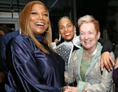 <p>Queen Latifah joins Alicia Keys and her mother, Terria Joseph, at Keys' Met Gala afterparty with Cincoro Tequila at Casa Cipriani in N.Y.C. on Sept. 13.</p>